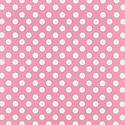 Pink Large Dots Treeless Gift Wrap