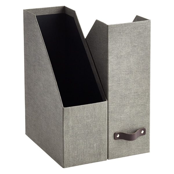 Bigso Marten Grey Magazine Holder