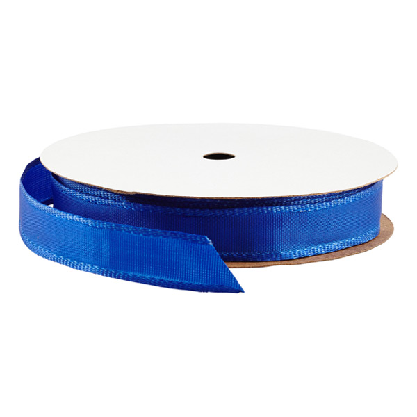 "5/8"" Bright Royal Blue Wired Ribbon"