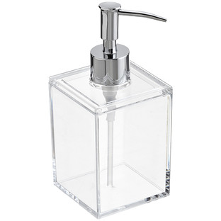 12 oz. Square Acrylic Pump Dispenser