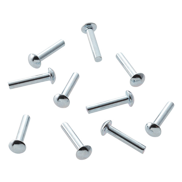 elfa Drawer Back Stop Pins Galvanized Pkg/10
