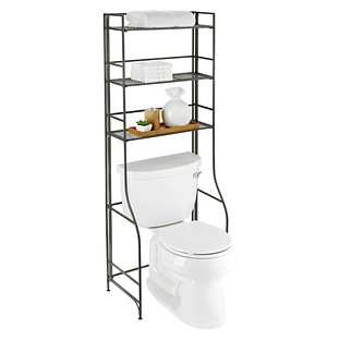 Iron Folding Bath Etagere Reviews   The Container Store