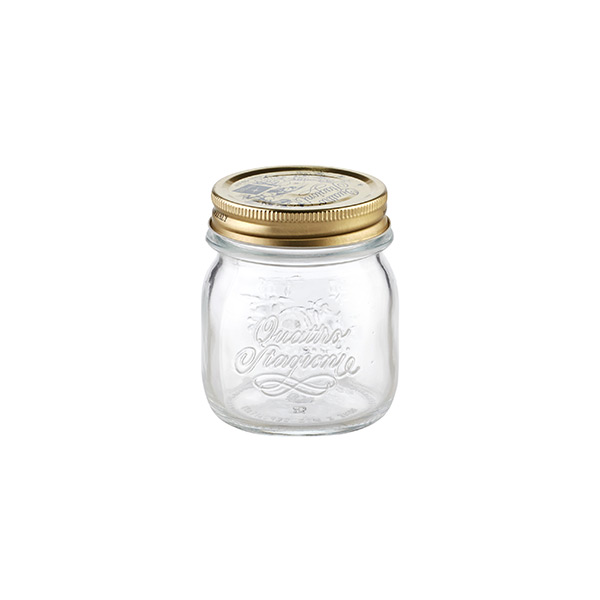 8.5 oz. Quattro Stagioni Canning Jar 250 ml.