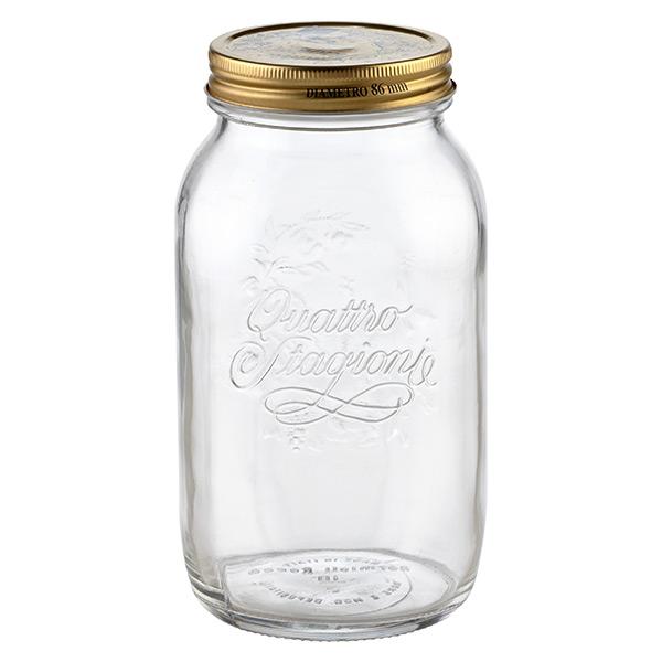 1.6 qt. Quattro Stagioni Canning Jar 1.5 ltr.