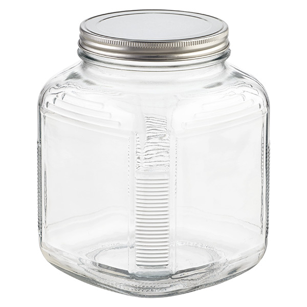 Glass Jars With Lids Anchor Hocking Glass Cracker Jars