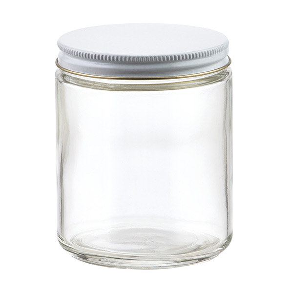 8 oz. Commercial Straight-Sided Jar