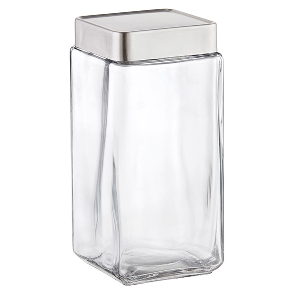 anchor 2 qt. Glass Canister Aluminum Lid