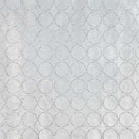 Silver Glitter Circles Recycled Gift Wrap