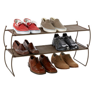 Umbra Bronze Carrie Stackable Shoe Shelf