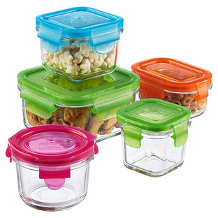 Wean Green Glasslock Clean & Fresh Food Storage Containers