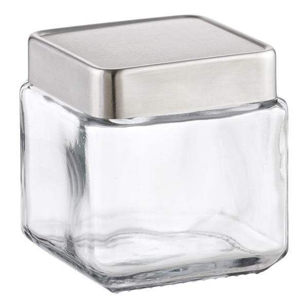 anchor 1 qt. Glass Canister Aluminum Lid