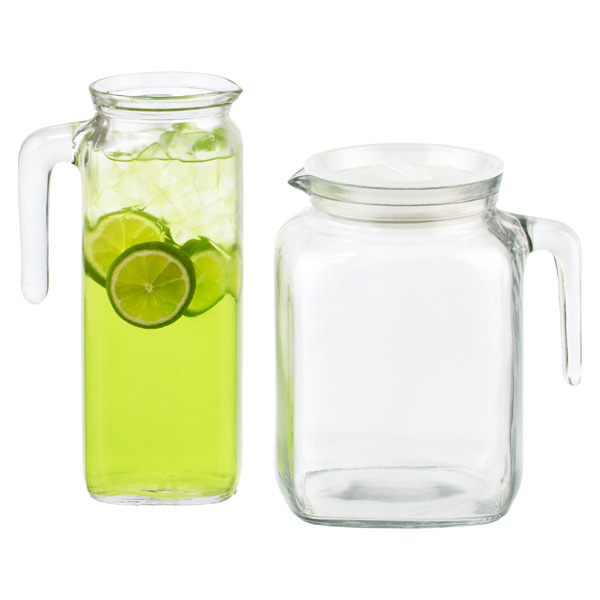 Gallon Glass Tea Pitcher With Lid