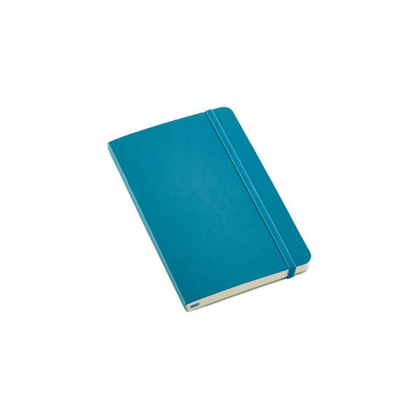 Pocket Moleskine Soft Ruled Notebook Teal
