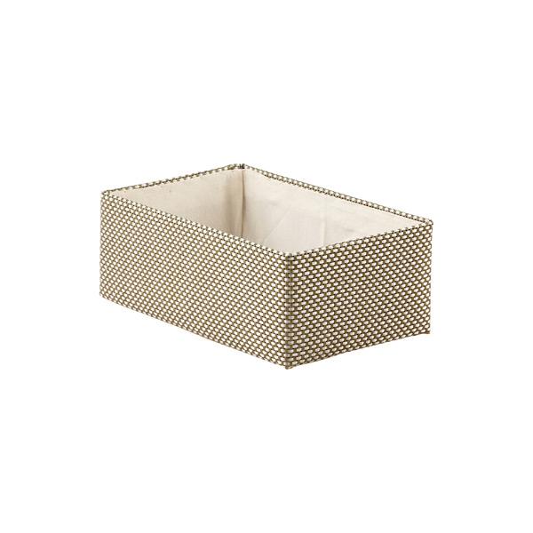 Small Kiva Storage Bin Sage & Silver