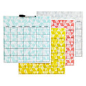 Pop Art Dry Erase Calendar