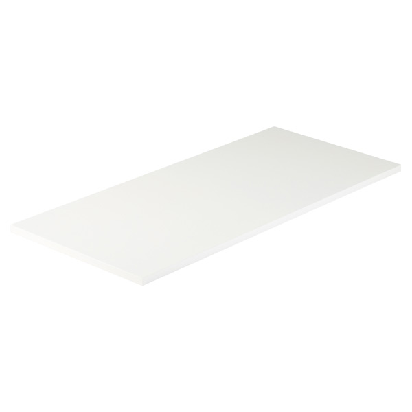 White Melamine Desk Top
