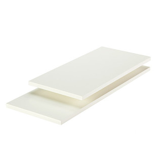 White Melamine Shelves