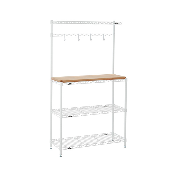 InterMetro Baker's Rack White
