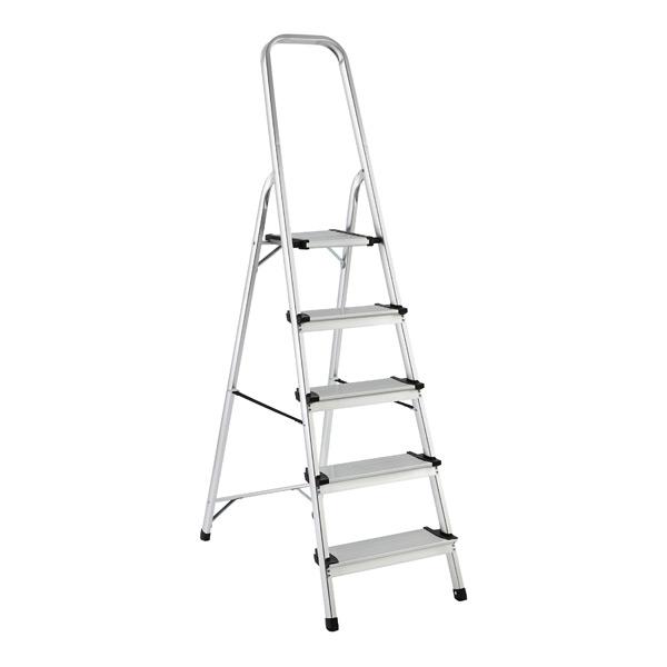Polder 5-Step Ladder Aluminum