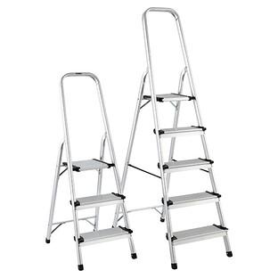 Polder 3 Amp 5 Step Aluminum Folding Ladders Reviews The