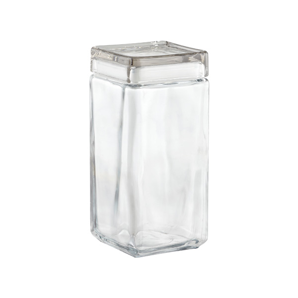 anchor 64 oz. Stackable Square Canister