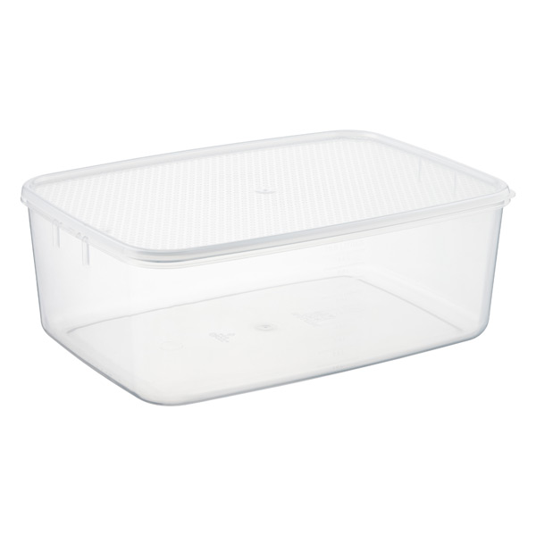 11 qt. Oblong Tellfresh Food Storage 10 ltr.