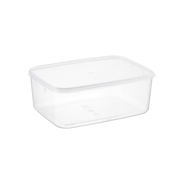 4.2 qt. Oblong Tellfresh Food Storage 4 ltr.
