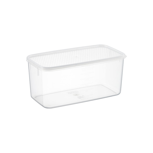 3.4 qt. Oblong Tellfresh Food Storage 3.25 ltr.