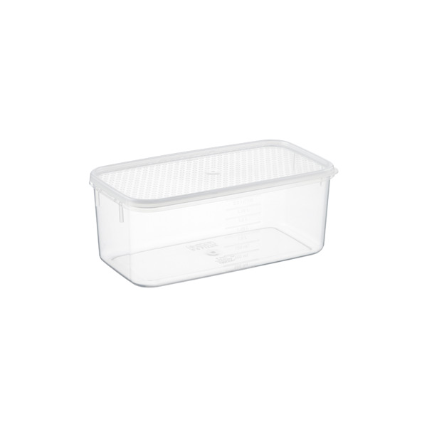 2.1 qt. Oblong Tellfresh Food Storage 2 ltr.