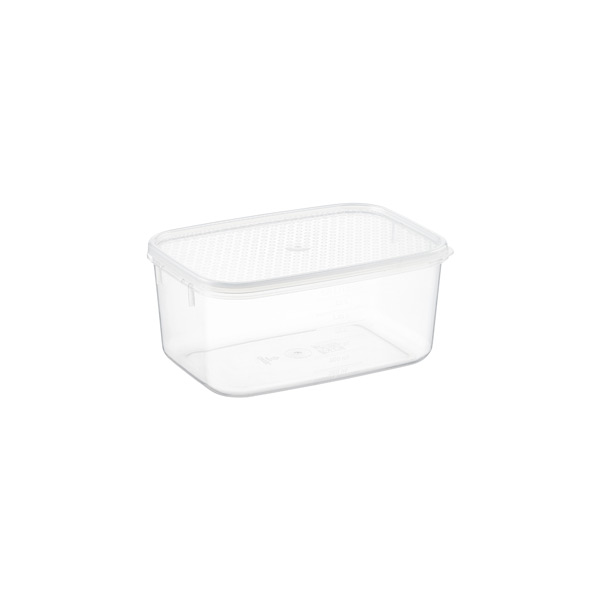 1.9 qt. Oblong Tellfresh Food Storage 1.8 ltr.