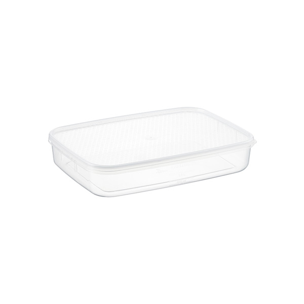 1.8 qt. Oblong Tellfresh Food Storage 1.75 ltr