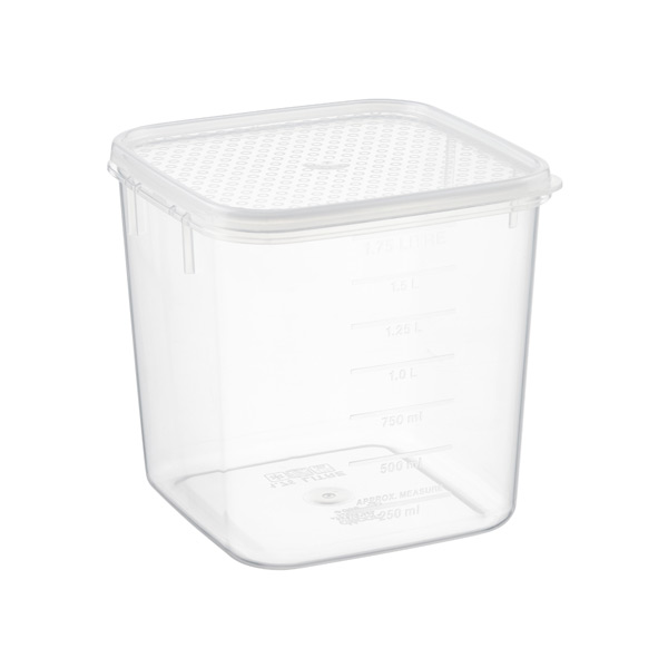1.9 qt. Square Tellfresh Food Storage 1.75 ltr.