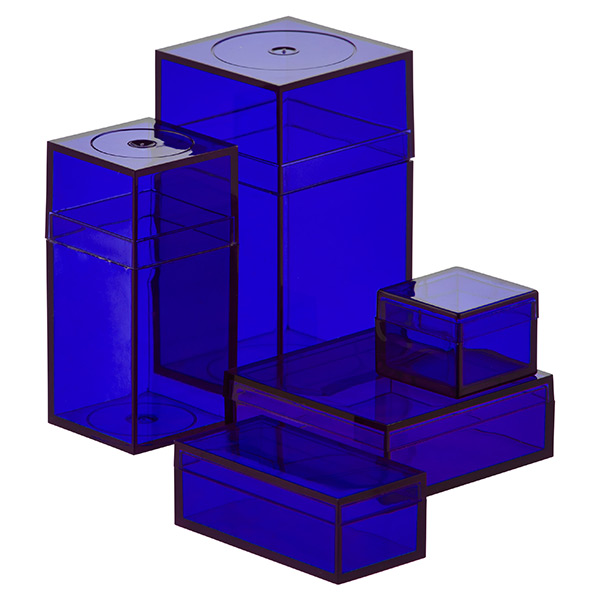 Small Blue Amac Boxes