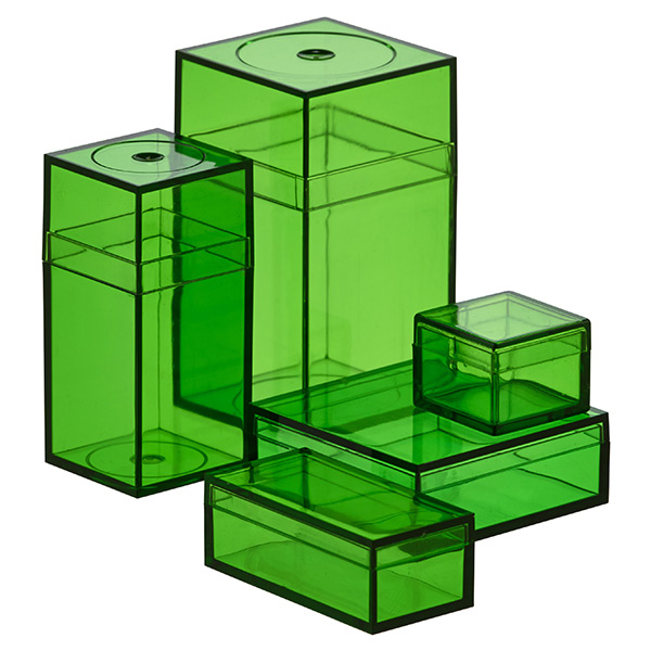 Small Green Amac Boxes