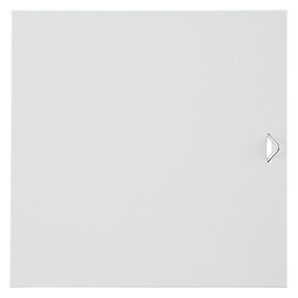 White Enameled QBO Steel Cube Door