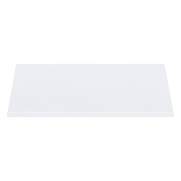 White Enameled QBO Steel Cube Shelf
