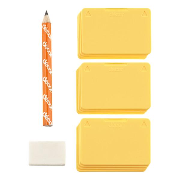 Tellfresh Tags with Pencil & Eraser Pkg/12