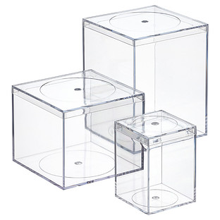 Clear Flush-Lid Amac Boxes