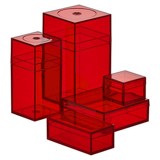 Small Red Amac Boxes
