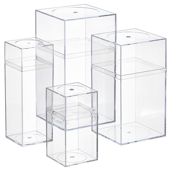 Clear Amac Boxes The Container Store
