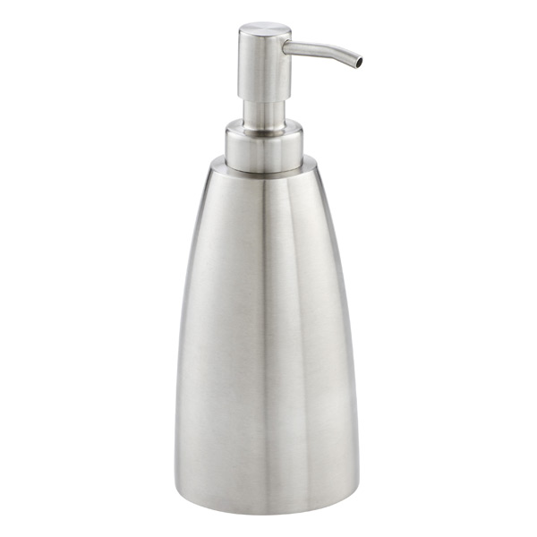 iDESIGN 16 oz. Forma Soap Pump Dispenser Stainless Steel