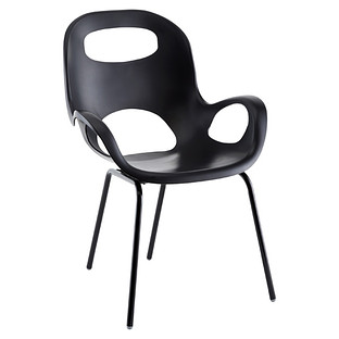 Umbra Black Oh! Chair