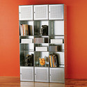 Galvanized QBO Steel Cube Wall