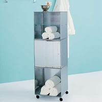 Galvanized QBO Steel Cube Storage Tower