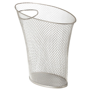 Umbra Nickel Mesh Skinny Trash Can