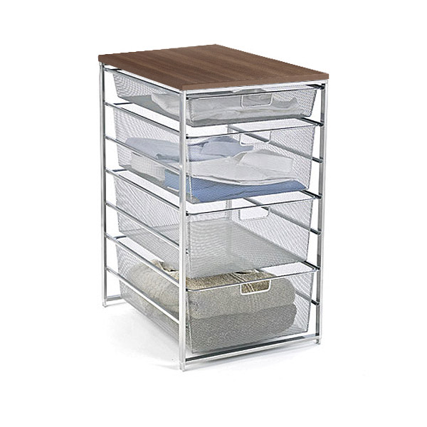 mesh shelving systems elfa components the container store 8819