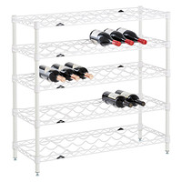 InterMetro 5-Shelf Wine Rack