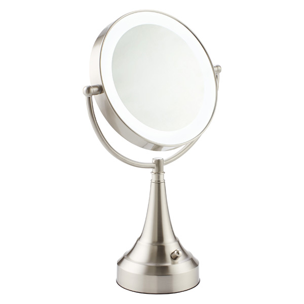 Swivel LED Makeup Mirror