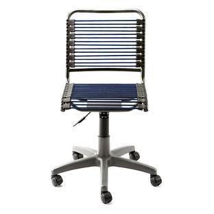 Blue Bungee Office Chair