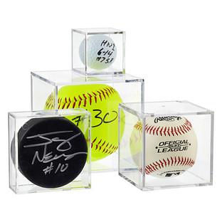 Small Ball & Puck Display Cubes